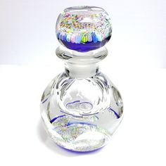 PERTHSHIRE ART GLASS PAPERWEIGHT Bottle PP15 Faceted Closepack Millefiori | Pottery & Glass, Glass, Art Glass | eBay!
