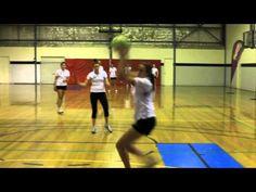 Norma Plummer's Netball Drills - Defence drill