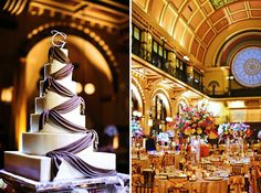 Taryn &    Indianapolis Wedding Crown Plaza Union Station Circle City Planners Heavenly Sweets Jessica Strickland Photography