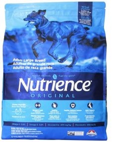 Nutrience Original Adult Large Breed Dog Food, 18-Pounds, Chicken Meal with Brown Rice Recipe for only $27.99 You save: $8.00 (22%)