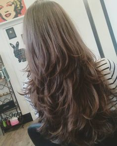 70 Classy Long Layered Hairstyles for Women Guide) hair styles for girls with long hair - Hair Style Girl Thin Hair Cuts, Long Thin Hair, Long Cut, Long Layer Hair, Layered Long Hair, Thick Hair, Easy Hairstyles, Straight Hairstyles, Layered Hairstyles