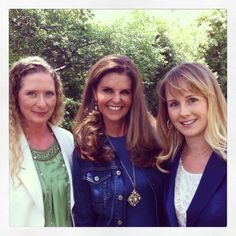 Maria Shriver Interviewed Expressing Motherhood for the Today Show