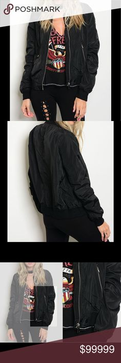 🌺🌺COMING SOON 🌺🌺The Black Jacket🌺🌺 Features zippered pockets on front of jacket and left arm.  Also has a zippered front closure.  Jacket is 100% Polyester.  ⭐️⭐️prices are firm on boutique items unless bundled!!⭐️⭐️🌺🌺🌺🌺🌺🌺🌺🌺🌺🌺 Serendipity by Design Jackets & Coats