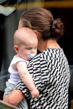 Crown Princess Victoria and Prince Oscar in NYC