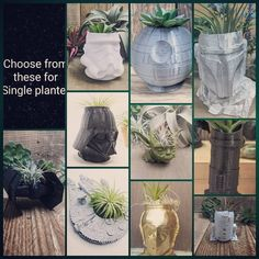 Grab one of those planters at printhousedesign1 on Etsy ✨ Glass Vase, Planters, Gifts, Etsy, Presents, Plant, Favors, Window Boxes, Gift