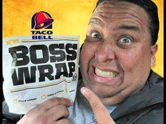 Taco Bell's® Fully Loaded Steak BOSS Wrap REVIEW!
