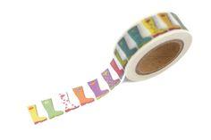 Image of Rainbow Wellies Washi Tape