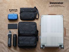 北欧発ライフスタイルブランド innovator(イノベーター) 各種取り揃えております。 鞄メーカーTRIO直営店「HALOA BOX ART」 #innovator #イノベーター #北欧 #sweden #スウェーデン #suitcase #スーツケース