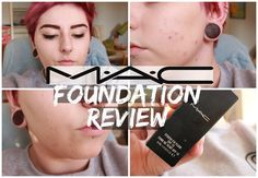 MAC Studio Fix Foundation Review | Charldeeblogs