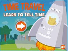 This ABCya telling time game . Telling Time Games, Telling Time Activities, Teaching Time, Kids Learning Activities, Student Teaching, First Grade Math, Grade 1, Third Grade, Learn To Tell Time