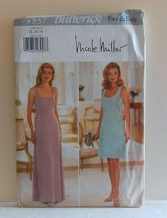 Women's Dress with Length Variations Size 141618 by filecutter, $3.75