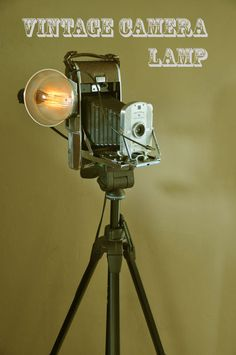 Picture of Vintage Camera Lamp