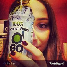 #Instagram submission   #GoCoco #CoconutWater #Coconut #Rehydrate #Health #Nutrition
