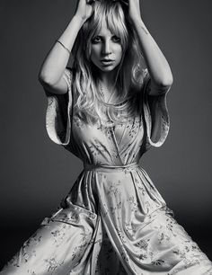 lady gaga inez vinoodh2 Lady Gaga Channels Stevie Nicks for Inez & Vinoodh in Porter Shoot