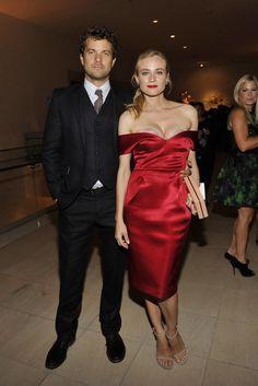 Joshua Jackson and Diane Kruger [Photo by Donato Sardella]