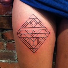 Frank Grimes; Gastown Tattoo Parlour, Vancouver, BC, Canada. | geometric