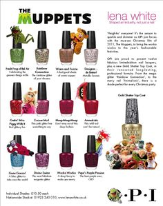 Love the Muppets collection for OPI. :-)