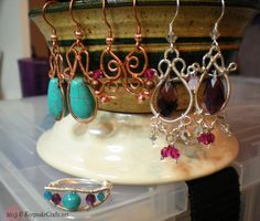Keepsake Crafts    Friday Findings-Briolette Beads   http://keepsakecrafts.net/blog