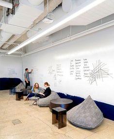 100 Best Design Warehouse Office Workspace - Page 8 of 100 Office Design Concepts, Office Space Design, Modern Office Design, Office Furniture Design, Office Interior Design, Furniture Layout, Office Interiors, Office Designs, Design Ideas
