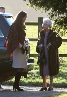 Kate & Queen Elizabeth