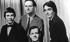 German electro giants Kraftwerk ... Florian Schneider is pictured second from left. Photograph: Cine Text/Allstar