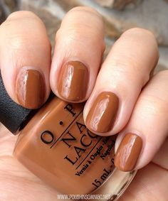 OPI A-Piers to be Tan  ~~  This is a pretty color!!