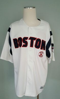 Boston Red Sox XL (40- 42) Adult Jersey MLB Baseball by Dynasty 3fa6382b9