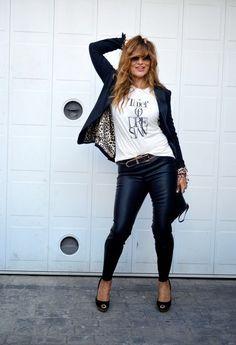 Fashion Alert 2014: Las calzas de cuero siguen en vigencia para ésta temporada