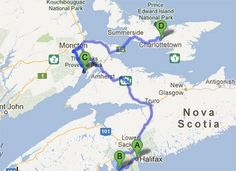 Great road trip routes starting from Vancouver, Whitehorse, Halifax or Ottawa.