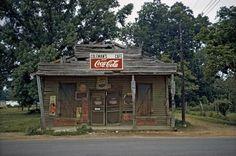 WILLIAM CHRISTENBERRY  Coleman's Cafe, Greensboro, Alabama, 1973