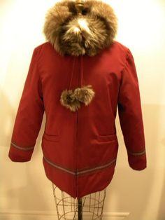 XTX Men Parkas Winter Faux Fur Hooded Camo Print Warm Quilted Jacket Coat Outerwear