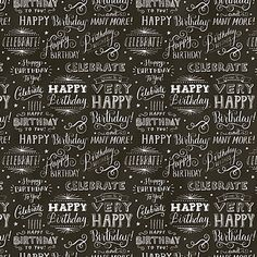 Chalkboard Gift Wrap | Paper Source