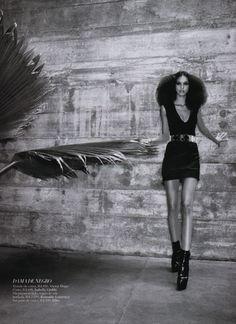 Lais Ribeiro for Harper's Bazaar Brazil February 2013