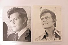 HAWAII FIVE-O Jack Lord's 2pcs large size Photo from Jack Lord Estate 10x8