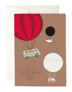 Balloons Grusskarte | Karten | Papier | pleased to meet