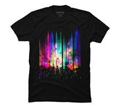 Feel Without Gravity Men's Small Black Graphic T Shirt - Design By Humans *Click image to check it out* (affiliate link)