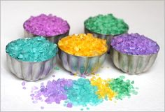 beautiful sparkly rainbow crystals at Twodaloo