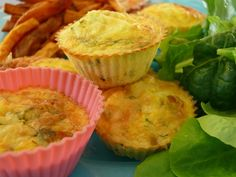 for suppers when we haven't had eggs for breakfast! Mini Frittata, Quiche, Sweet Potato Chips, Suppers, Muffin, Potatoes, Eggs, Cooking, Breakfast