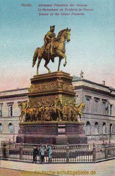 Berlin - Denkmal Friedrich der Grosse