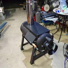 ロケットストーブの耐熱塗装|趣味工作の便利屋:あなたの困っているものづくり・試作を応援します