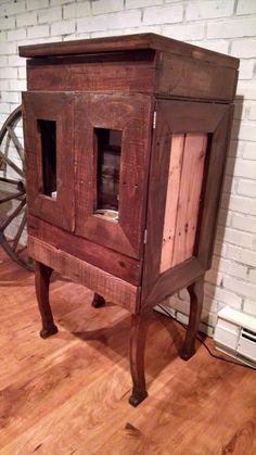 Pallet Wood Cigar Pipe Cabinet | 101 Pallets