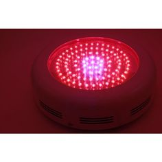 The 90W LED UFO Hydroponic Lamp is a 90 LED Red/Blue Hydroponic Grow Light with 3 cooling fans built in. This is the latest Blue and red UFO LED Grow Light and is perfect for your plants growth.