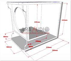 √ Box Speaker RCF Subwoofer 12 inch | ARA AUDIO 15 Inch Subwoofer Box, Diy Subwoofer, Subwoofer Box Design, Speaker Box Design, Audio Sound, Monitor, Bikini, Subwoofer Box, Box Design