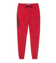 6c3ab1153631 NIKE SPORTSWEAR MENS NSW TECH FLEECE JOGGER Red Red Joggers