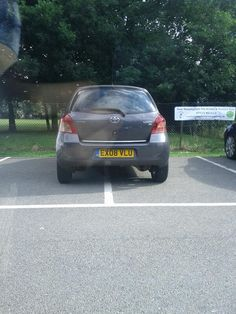 Selfish Parker Is A Site Dedicated To Embarrassing Inconsiderate Parkers Across The Uk
