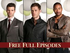 Have you missed an episode of There's plenty of time to catch up now at and The CW app! Vampire Diaries Cast, Vampire Diaries The Originals, Original Vampire, Daniel Gillies, Watch Full Episodes, The Cw, Always And Forever, Eye Candy, Tv Shows