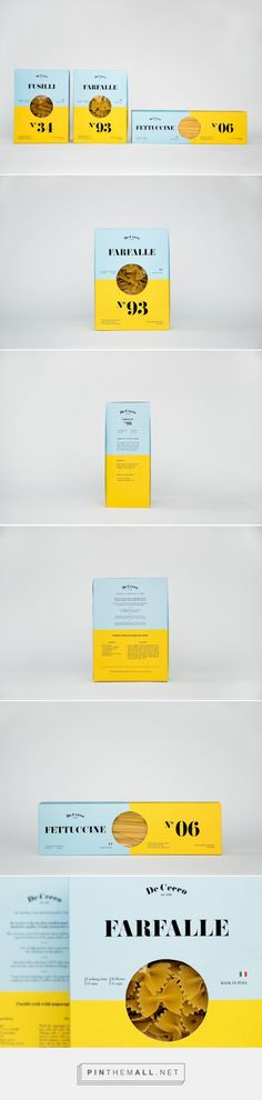 De Cecco (Student Project) pasta on  Packaging of the World - Creative Package Design Gallery - http://www.packagingoftheworld.com/2015/09/de-cecco-student-project.html