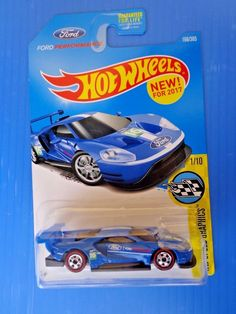 2017 Hot Wheels RLC Ford GT Race Prototype Super Rare #HotWheels
