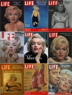 Marilyn Monroe's LIFE covers, 1952-2009.
