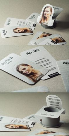 Actress Business Card | Business Cards | The Design Inspiration